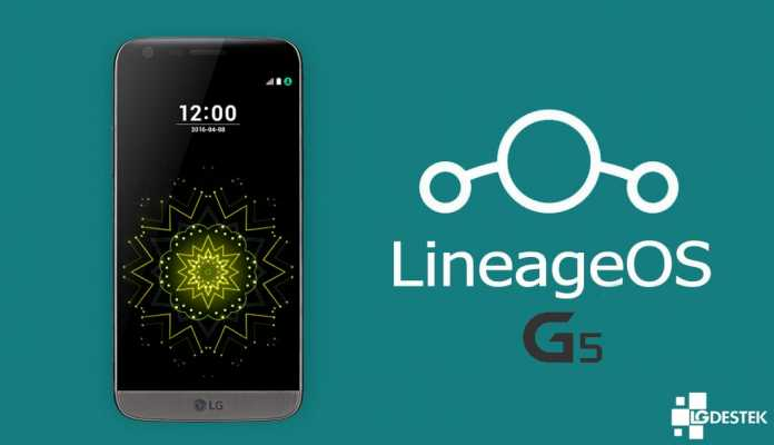 Install Lineage OS on LG G5